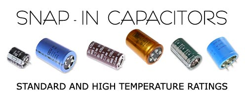 Snap-in capacitors.