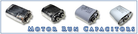 Picture of Motor Run Capacitors.