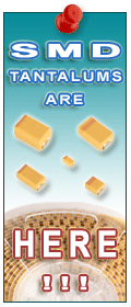 SMD tantalum capacitors picture.