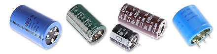 Picture of Snap-In Capacitors.
