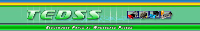 TEDSS - electronic parts at wholesale prices.