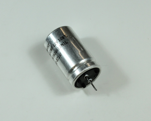 Picture of VPR362U012NIL MALLORY capacitor 3,600uF 12V Aluminum Electrolytic Radial High Temp