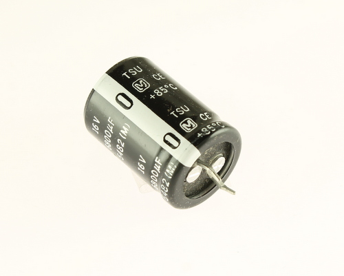 Picture of ECES1CU682E PANASONIC capacitor 6,800uF 16V Aluminum Electrolytic Snap In