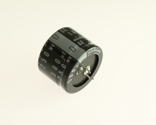 Picture of LLQ2E561MHSC NICHICON capacitor 560uF 250V Aluminum Electrolytic Snap In