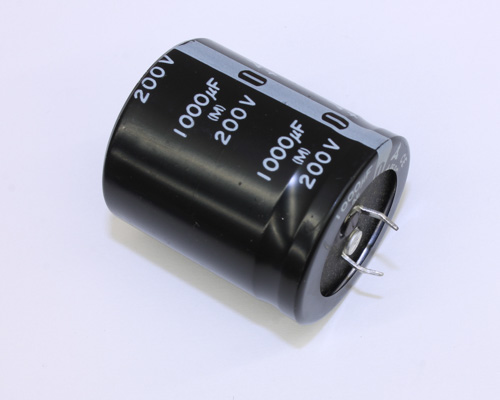 Picture of ECES2DV102Z PANASONIC capacitor 1,000uF 200V Aluminum Electrolytic Snap In