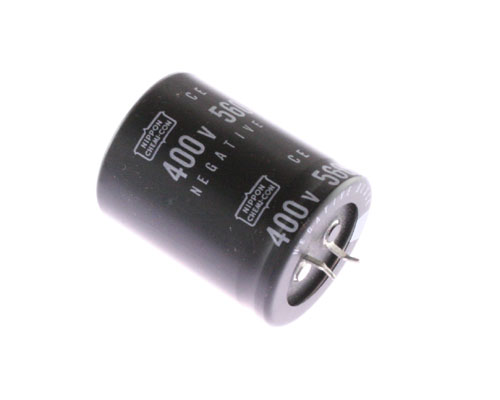 Picture of SM400VRSN560 UCC capacitor 560uF 400V Aluminum Electrolytic Snap In