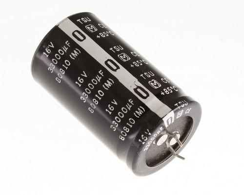 2x KJ2G330MNN1620 Capacitor electrolytic THT 33uF 400VDC /Ø16x20mm ELITE