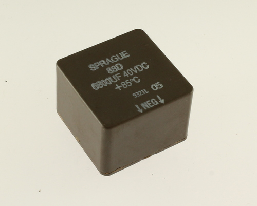 Picture of 88D682M040BB SPRAGUE capacitor 6,800uF 40V Aluminum Electrolytic Snap In