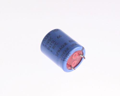 Picture of 82DA272M035HA5D SPRAGUE capacitor 2,700uF 35V Aluminum Electrolytic Snap In