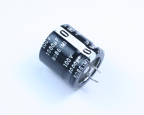 Picture of ECOS2AP102CA PANASONIC capacitor 1,000uF 100V Aluminum Electrolytic Snap In