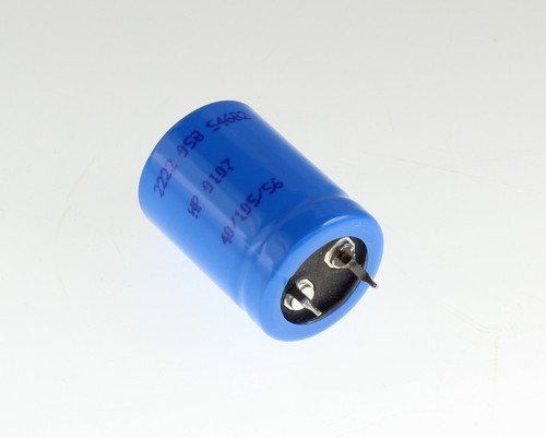 Picture of 2222-058-54682 BC COMPONENTS capacitor 6,800uF 10V Aluminum Electrolytic Snap In High Temp