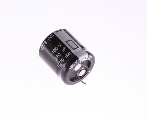 Picture of ECOS2CA271BB PANASONIC capacitor 270uF 160V Aluminum Electrolytic Snap In High Temp