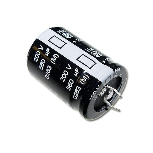 Picture of ECOS2DA561CA PANASONIC capacitor 560uF 200V Aluminum Electrolytic Snap In High Temp