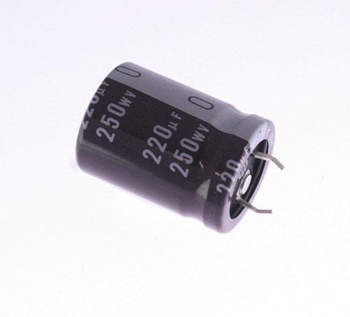 Lgq2e221mhsz Nichicon Capacitor 220uf 250v Aluminum