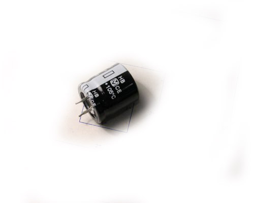 Picture of ECOS2CB331BB PANASONIC capacitor 330uF 160V Aluminum Electrolytic Snap In High Temp