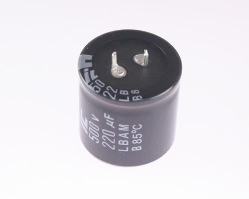4x 220uf 500v Dc Radial Snap In Mount Electrolytic