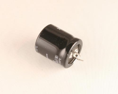 Picture of 160VXP221M RUBYCON capacitor 220uF 160V Aluminum Electrolytic Snap In