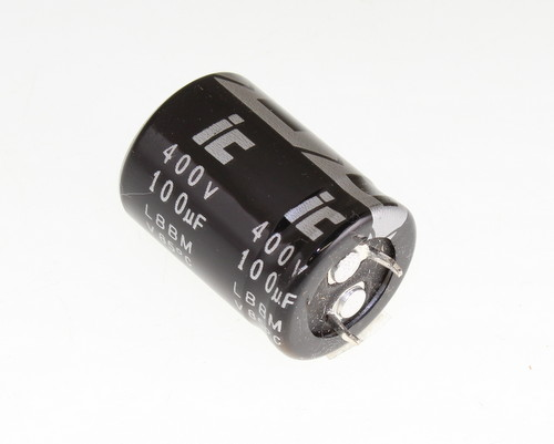 Picture of 107LBB400M2BD ILLINOIS CAPACITOR capacitor 100uF 400V Aluminum Electrolytic Snap In