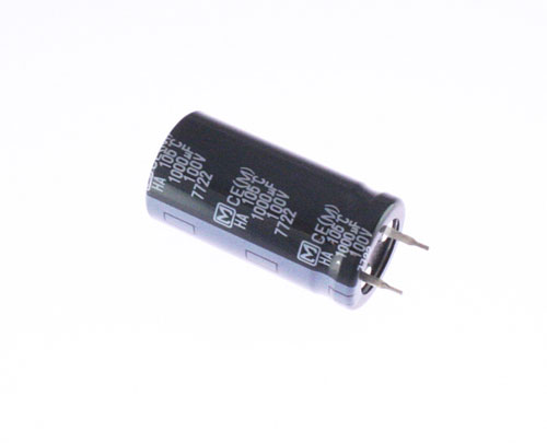 Picture of ECOS2AA102AA PANASONIC capacitor 1,000uF 100V Aluminum Electrolytic Snap In High Temp