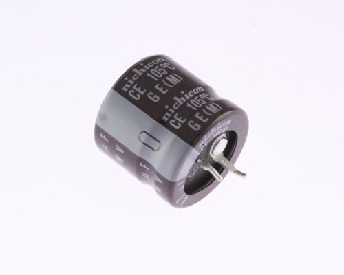 Picture of LGE2G470MHSZ NICHICON capacitor 47uF 400V Aluminum Electrolytic Snap In