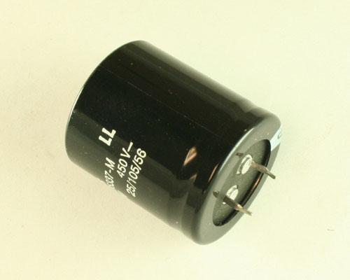 Picture of B43504-B5337-M EPCOS capacitor 330uF 450V Aluminum Electrolytic Snap In High Temp