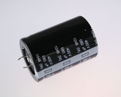 Picture of ECOS2GB561EA PANASONIC capacitor 560uF 400V Aluminum Electrolytic Snap In