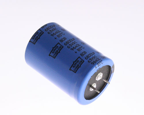 Picture of 80D682M063ME2D UCC capacitor 6,800uF 63V Aluminum Electrolytic Snap In
