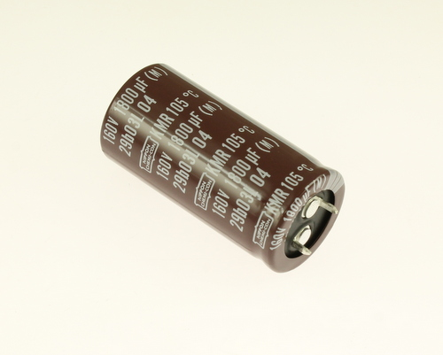 Picture of EKMR161VSN182MQ50S UCC capacitor 1,800uF 160V Aluminum Electrolytic Snap In High Temp