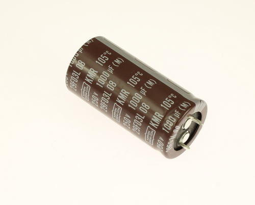 Picture of EKMR251VSN102MQ50S UNITED CHEMICON capacitor 1,000uF 250V Aluminum Electrolytic Snap In High Temp
