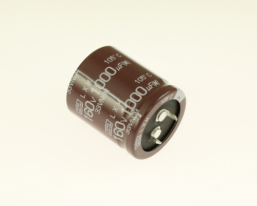 Picture of ELXM161VSN102MR35S UCC capacitor 1,000uF 160V Aluminum Electrolytic Snap In High Temp
