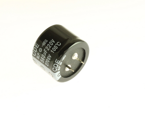 Slp561m220h1p3 Cde Capacitor 560uf 220v Aluminum