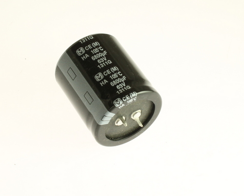 Picture of ECE-C1JA682EA PANASONIC capacitor 6,800uF 63V Aluminum Electrolytic Snap In High Temp