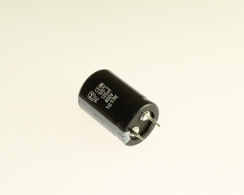 Picture of EETHC2G121BA PANASONIC capacitor 120uF 400V Aluminum Electrolytic Snap In High Temp