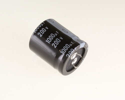 Picture of LLS2D102MELB NICHICON capacitor 1,000uF 200V Aluminum Electrolytic Snap In