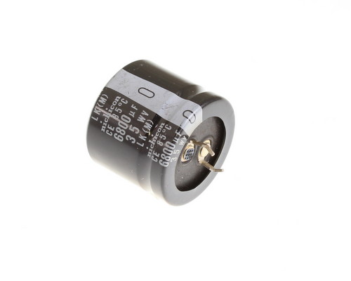 Picture of LLK1V682MHSB NICHICON capacitor 6,800uF 35V Aluminum Electrolytic Snap In