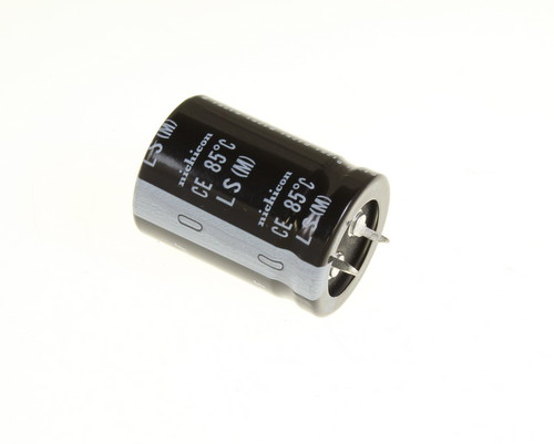 Picture of LLS2E561MELA NICHICON capacitor 560uF 250V Aluminum Electrolytic Snap In