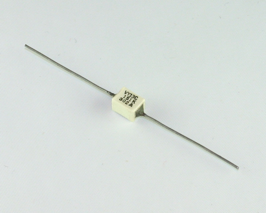 VY13C151K VITRAMON capacitor 150pF Glass Axial
