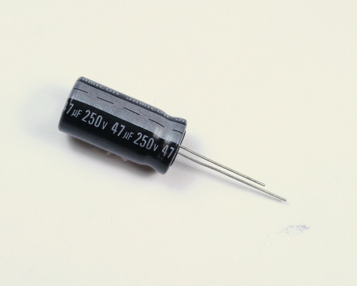 Picture of SKR470M2EJ26 JAMICON capacitor 47uF 250V Aluminum Electrolytic Radial