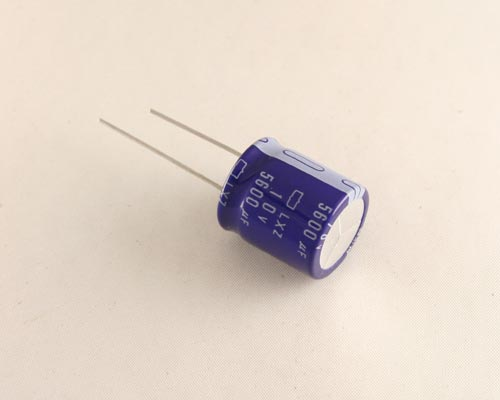 Picture of LXZ10VB562M UCC capacitor 5,600uF 10V Aluminum Electrolytic Radial High Temp