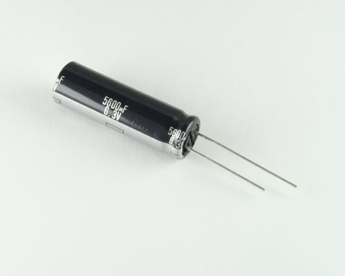 Picture of ECA0JFQ562L PANASONIC capacitor 5,600uF 6.3V Aluminum Electrolytic Radial High Temp