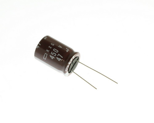 Picture of EKXG451ELL470MM25S UCC capacitor 47uF 450V Aluminum Electrolytic Radial High Temp