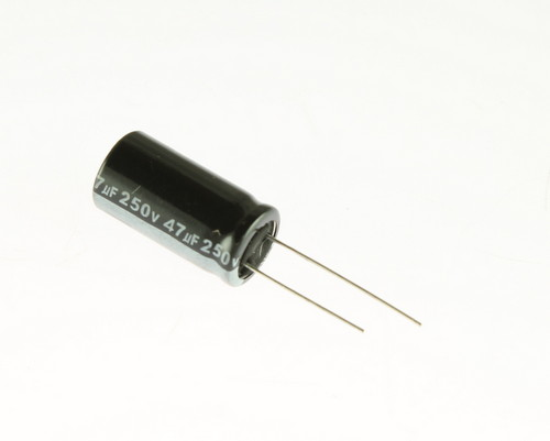 Picture of RGA470M2EBK-1325G LELON capacitor 47uF 250V Aluminum Electrolytic Radial High Temp