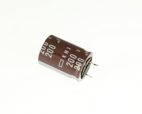 Picture of KMX200VB200MMC UNITED CHEMICON capacitor 200uF 200V Aluminum Electrolytic Radial High Temp