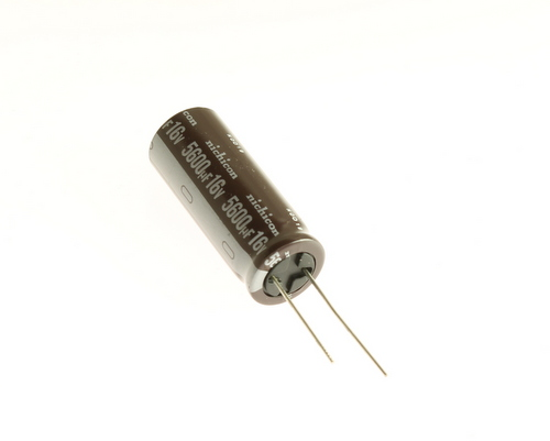 Picture of UPL1C562MHH NICHICON capacitor 5,600uF 16V Aluminum Electrolytic Axial High Temp