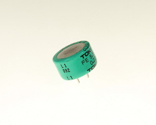 Picture of FE0H224ZF TOKIN capacitor 220,000uF 5.5V Aluminum Electrolytic Radial