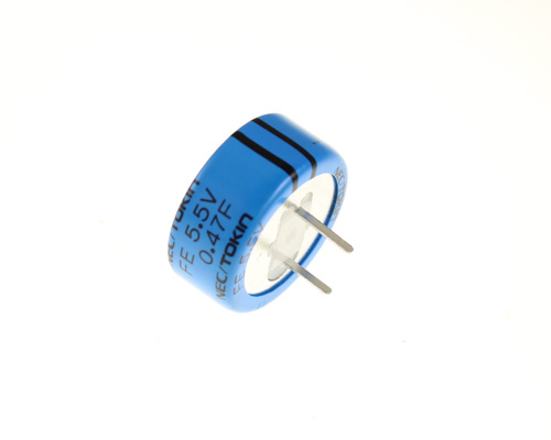 Picture of FE0H474ZF NEC capacitor 470,000uF 5.5V Super