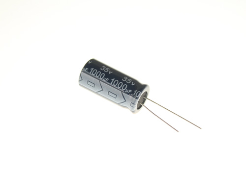 Picture of RPZ102M035V1225B Richey Capacitor capacitor 1,000uF 35V Aluminum Electrolytic Radial High Temp