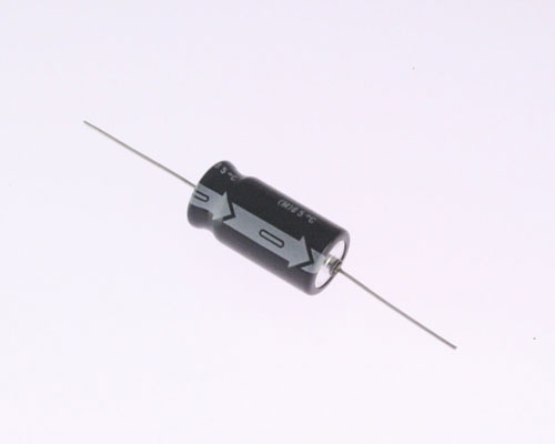 Picture of SME160T10M UCC capacitor 10uF 160V Aluminum Electrolytic Axial