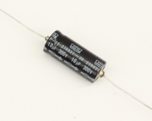 Picture of SL300T10RM UCC capacitor 10uF 30V Aluminum Electrolytic Axial