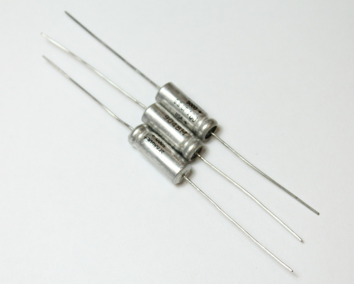 Picture of 500D685M160CC2 SPRAGUE capacitor 6.8uF 160V Aluminum Electrolytic Axial High Temp